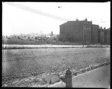 Street Improvement Photographs -- Box 39, Folder 05 (Liberty Street) -- negative, 1929