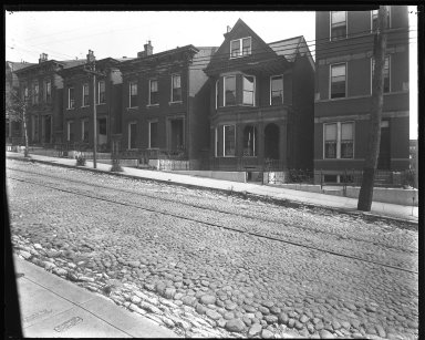 Street Improvement Photographs -- Box 39, Folder 05 (Liberty Street) -- negative, 1929