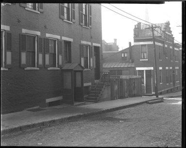 Street Improvement Photographs -- Box 39, Folder 06 (Liberty Street) -- negative, 1929