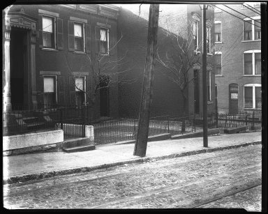 Street Improvement Photographs -- Box 39, Folder 06 (Liberty Street) -- negative, 1929