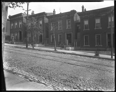 Street Improvement Photographs -- Box 39, Folder 07 (Liberty Street) -- negative, 1929