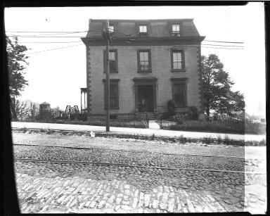 Street Improvement Photographs -- Box 39, Folder 07 (Liberty Street) -- negative, 1929