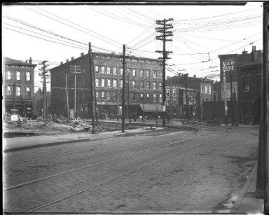 Street Improvement Photographs -- Box 39, Folder 08 (Liberty Street) -- negative, 1929