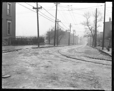 Street Improvement Photographs -- Box 39, Folder 09 (Liberty Street) -- negative, 1929