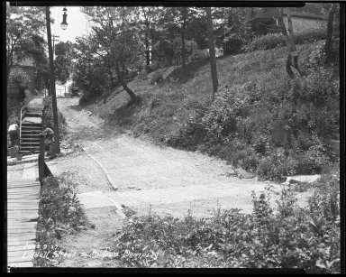 Street Improvement Photographs -- Box 39, Folder 12 (Liddell Avenue) -- negative, 1927-06-09