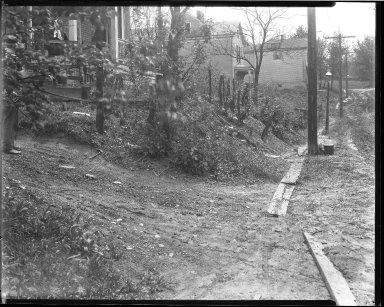 Street Improvement Photographs -- Box 39, Folder 15 (Lilac Avenue) -- negative, 1928