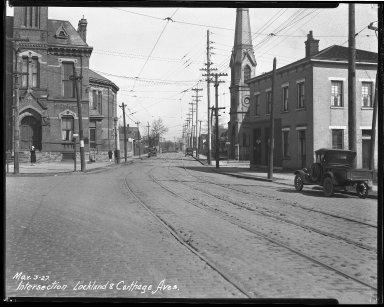Street Improvement Photographs -- Box 39, Folder 24 (Lockland Avenue) -- negative, 1927-03-03