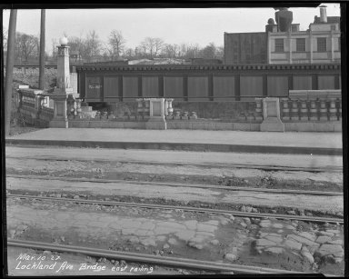 Street Improvement Photographs -- Box 39, Folder 26 (Lockland Avenue Bridge) -- negative, 1927-03-10