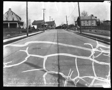 Street Improvement Photographs -- Box 39, Folder 29 (Losantiville Avenue) -- negative, 1932-04-05
