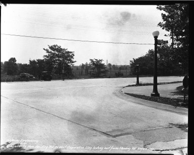 Street Improvement Photographs -- Box 39, Folder 29 (Losantiville Avenue) -- negative, 1941-07-05