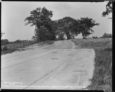 Street Improvement Photographs -- Box 39, Folder 30 (Losantiville Avenue) -- negative, 1941-07-05