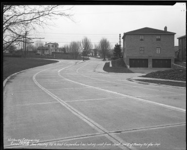Street Improvement Photographs -- Box 39, Folder 30 (Losantiville Avenue) -- negative, 1941-12-15