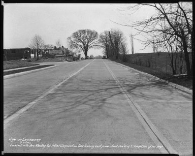 Street Improvement Photographs -- Box 39, Folder 30 (Losantiville Avenue) -- negative, 1942-03-12