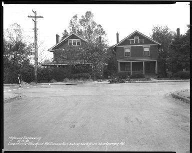 Street Improvement Photographs -- Box 39, Folder 31 (Losantiville Avenue) -- negative, 1942-10-19