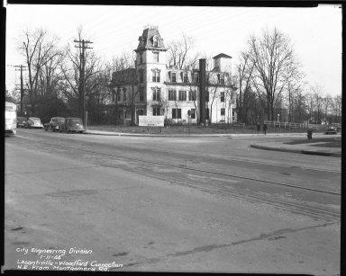 Street Improvement Photographs -- Box 39, Folder 32 (Losantiville Avenue) -- negative, 1944-01-11