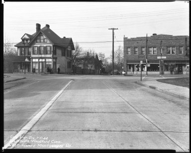 Street Improvement Photographs -- Box 39, Folder 32 (Losantiville Avenue) -- negative, 1944-01-11