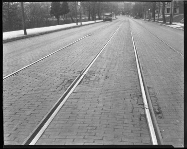 Street Improvement Photographs -- Box 39, Folder 34 (Ludlow Avenue) -- negative, 1927