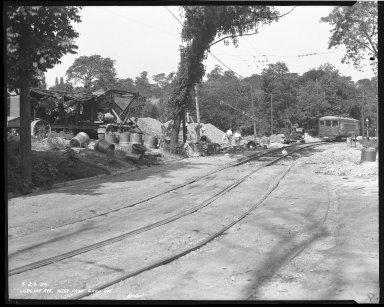 Street Improvement Photographs -- Box 39, Folder 35 (Ludlow Avenue) -- negative, 1926-06-24