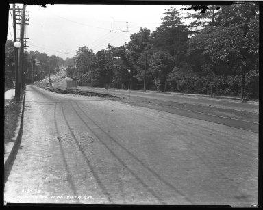 Street Improvement Photographs -- Box 40, Folder 01 (Madison Road) -- negative, 1926-06-30