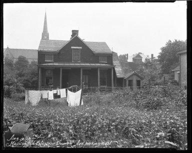 Street Improvement Photographs -- Box 40, Folder 04 (Madison Road) -- negative, 1928-08-10