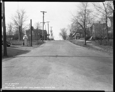 Street Improvement Photographs -- Box 40, Folder 05 (Madison Road) -- negative, 1938-11-21