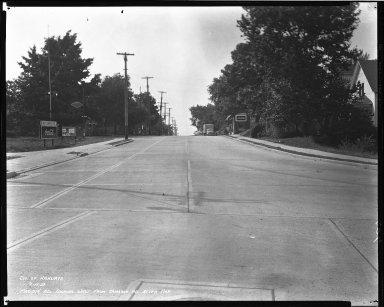 Street Improvement Photographs -- Box 40, Folder 05 (Madison Road) -- negative, 1939-09-15