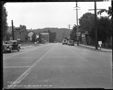 Street Improvement Photographs -- Box 40, Folder 06 (Madison Road) -- negative, 1939-09-15