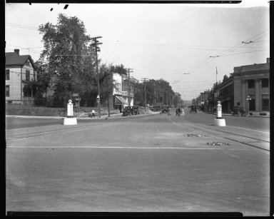 Street Improvement Photographs -- Box 40, Folder 09 (Madison Road) -- negative, 1929