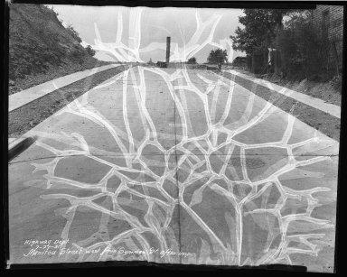 Street Improvement Photographs -- Box 40, Folder 19 (Manitou Street) -- negative, 1931-07-27