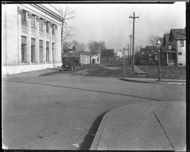 Street Improvement Photographs -- Box 40, Folder 25 (Markbbreit Avenue) -- negative, 1922