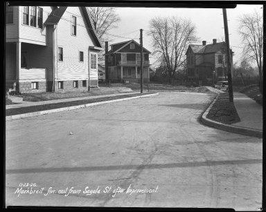 Street Improvement Photographs -- Box 40, Folder 26 (Markbbreit Avenue) -- negative, 1926-11-23