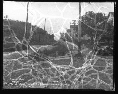 Street Improvement Photographs -- Box 40, Folder 32 (May Street) -- negative, 1931-08-28