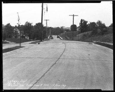 Street Improvement Photographs -- Box 40, Folder 42 (McKeone Avenue) -- negative, 1930-05-14
