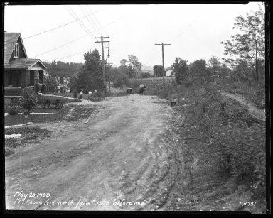 Street Improvement Photographs -- Box 40, Folder 42 (McKeone Avenue) -- negative, 1929-05-20