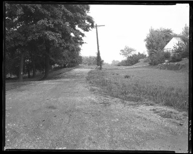 Street Improvement Photographs -- Box 40, Folder 43 (McKinley Avenue) -- negative, 1929