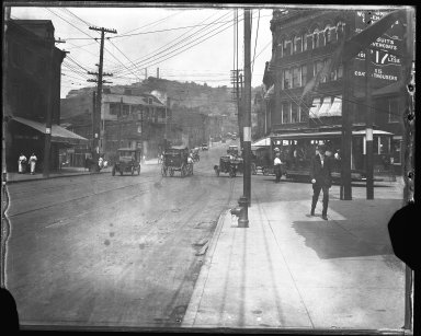 Street Improvement Photographs -- Box 40, Folder 44 (McMicken Avenue) -- negative, 1929