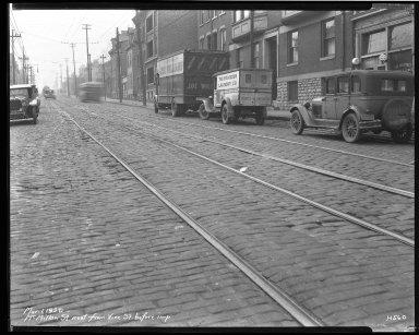 Street Improvement Photographs -- Box 40, Folder 47 (McMillan Street) -- negative, 1929-03-01