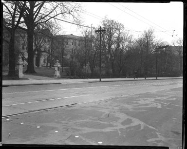 Street Improvement Photographs -- Box 40, Folder 50 (McMillan Street) -- negative, 1928