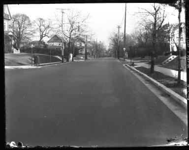 Street Improvement Photographs -- Box 40, Folder 51 (McMillan Street) -- negative, 1928-12-05