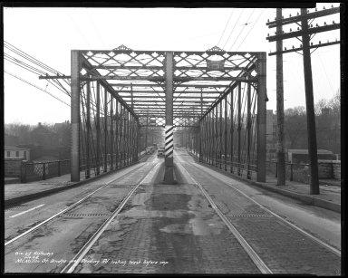 Street Improvement Photographs -- Box 41, Folder 02 (McMillan Street Bridge) -- negative, 1936-01-10