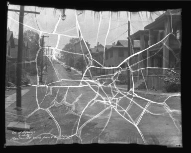 Street Improvement Photographs -- Box 41, Folder 12 (Mentor Street) -- negative, 1934-05-16