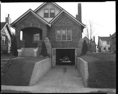 Street Improvement Photographs -- Box 41, Folder 15 (Merwin Avenue) -- negative, 1944