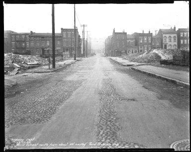 Street Improvement Photographs -- Box 41, Folder 16 (Mill Street) -- negative, 1930-12-22