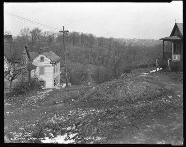 Street Improvement Photographs -- Box 41, Folder 19 (Minion Avenue) -- negative, 1931-03-13