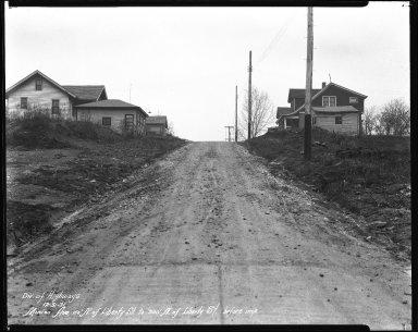 Street Improvement Photographs -- Box 41, Folder 19 (Minion Avenue) -- negative, 1931-12-31