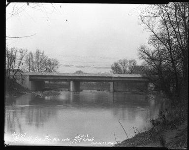 Street Improvement Photographs -- Box 41, Folder 21 (Mitchell Avenue) -- negative, 1927-02-09