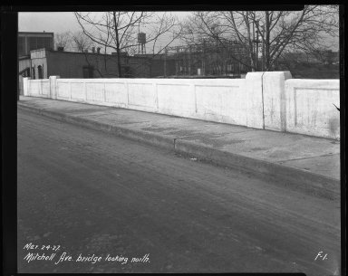 Street Improvement Photographs -- Box 41, Folder 21 (Mitchell Avenue) -- negative, 1927-03-24