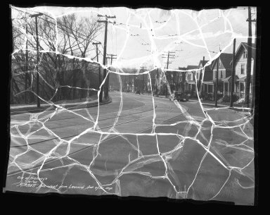 Street Improvement Photographs -- Box 41, Folder 23 (Mitchell Avenue) -- negative, 1935-01-15