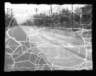 Street Improvement Photographs -- Box 41, Folder 23 (Mitchell Avenue) -- negative, 1935-02-15
