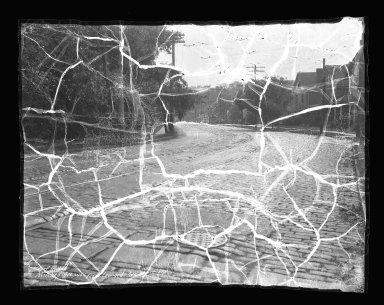 Street Improvement Photographs -- Box 41, Folder 23 (Mitchell Avenue) -- negative, 1934-07-15